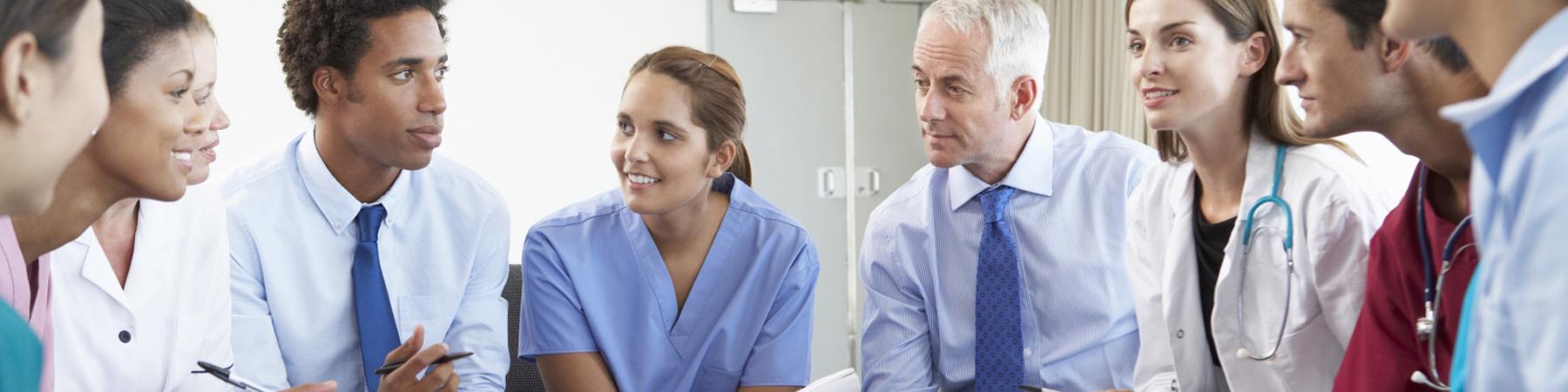 Hospitals Medical Professionals Slider